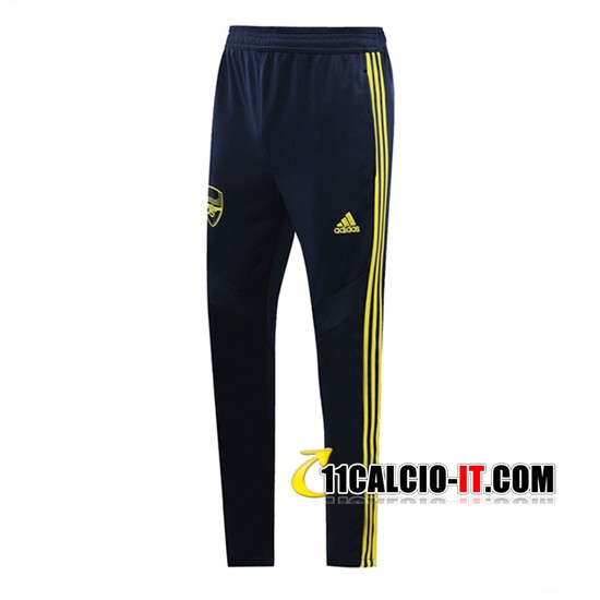 Pantaloni Allenamento Arsenal Blu Scuro/Giallo 2019-2020 | 11calcio-it
