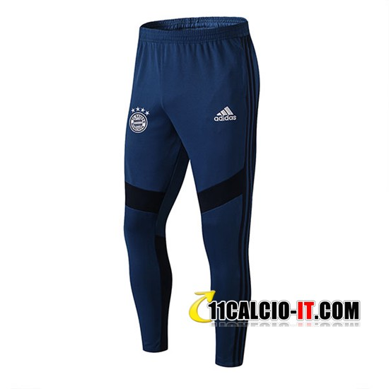 Pantaloni Allenamento AFC Ajax Blu Scuro 2019-2020 | 11calcio-it