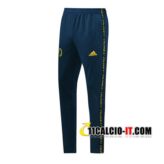Pantaloni Allenamento Colombia Blu 2019-2020 | 11calcio-it