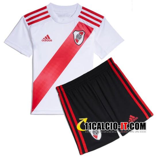Nuove Maglia Calcio River Plate Bambino Prima 2019/20   Tailandia