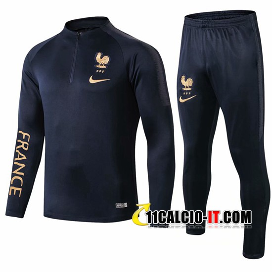 Tuta Calcio Francia Blu Scuro 2019-2020 | 11calcio-it