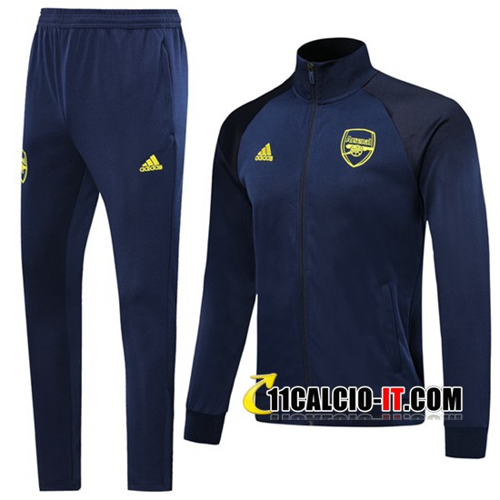 Tuta Calcio - Giacca Arsenal Blu Scuro 2019-2020 | 11calcio-it