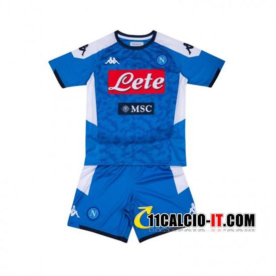 Maglia SSC Napoli Bambino Limited Edition Blu/Nero 2021/2022 ...