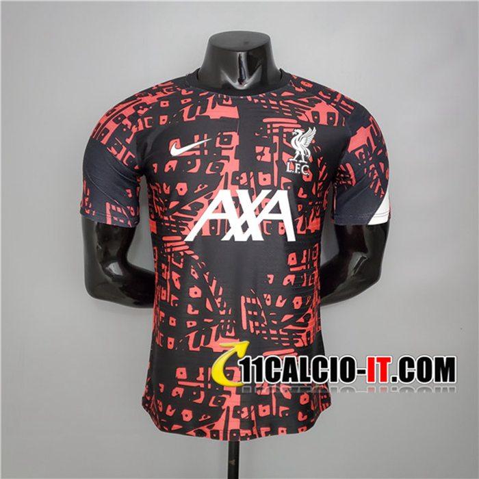 Siti T Shirt Allenamento FC Liverpool Nero/Rosso 2020/2021