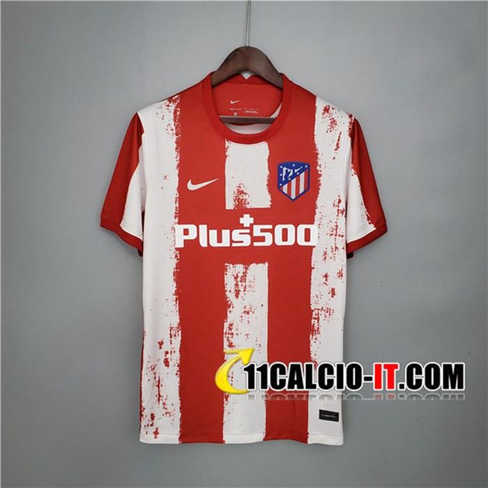 Crea Maglie Calcio Atletico Madrid Prima 2021/2022