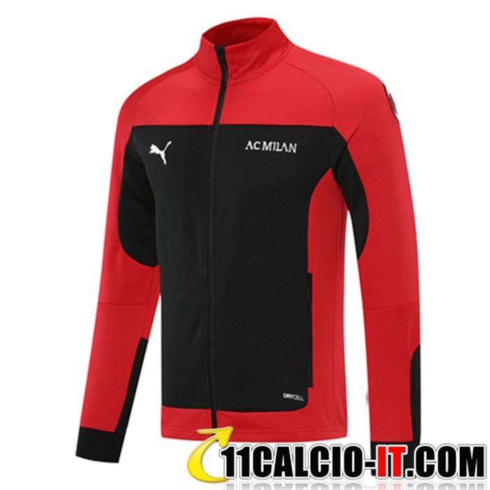 Acquistare Giacca Calcio AC Milan Rosso/Nero 2021/2022