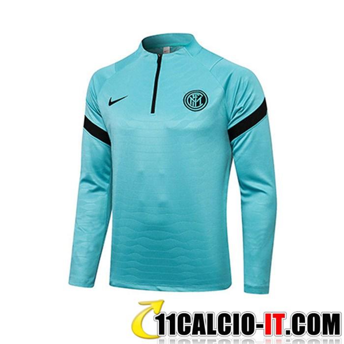 Sito Felpa Allenamento Inter Milan Blu 2021/2022