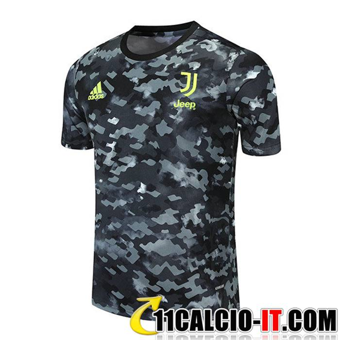 Acquistare T Shirt Allenamento Juventus Grigio/Nero 2021/2022