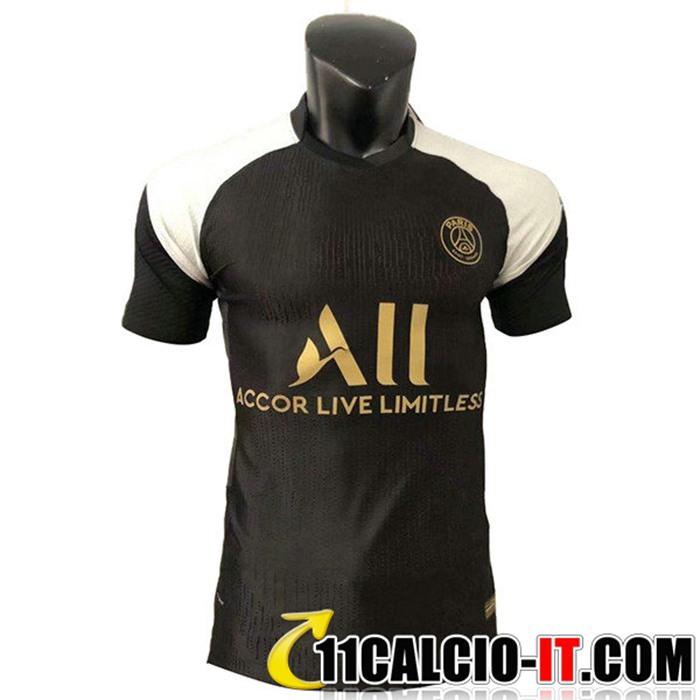 Nuova T Shirt Allenamento PSG Jordan Marron 2021/2022
