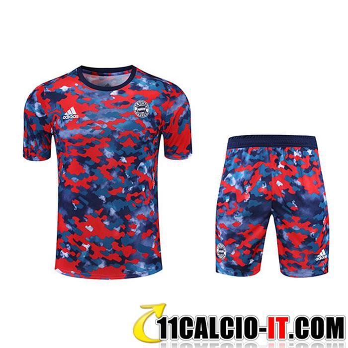 Ingrosso Kit Maglia Allenamento FC Bayern Monaco Pantaloncini ...