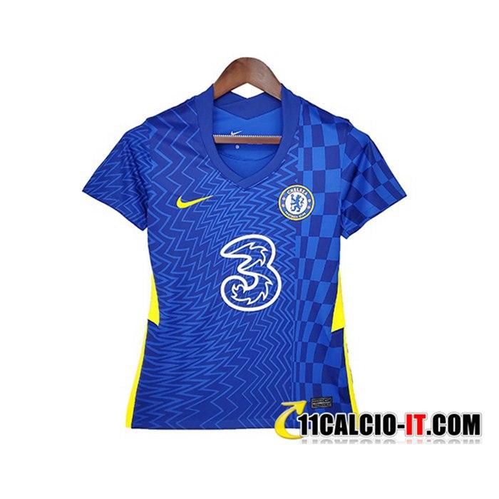 Creare Maglie Calcio FC Chelsea Donna Prima 2021/2022