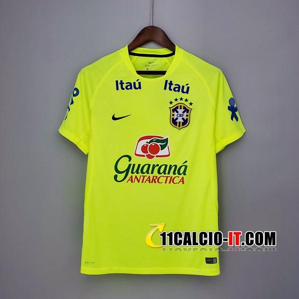 Nuove T Shirt Allenamento Brasile Verde 2020/21 | Tailandia