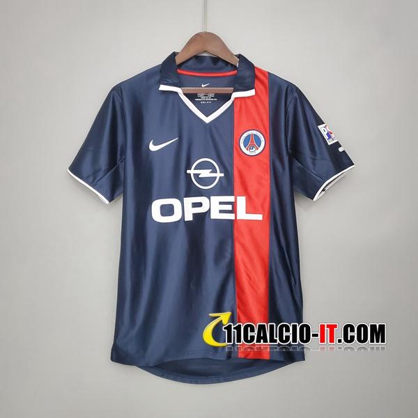 Maglia Calcio PSG Retro Prima 2001/2002
