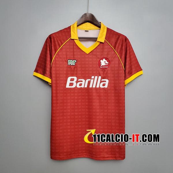 Maglia Calcio AS Roma Retro Prima 1990/1991