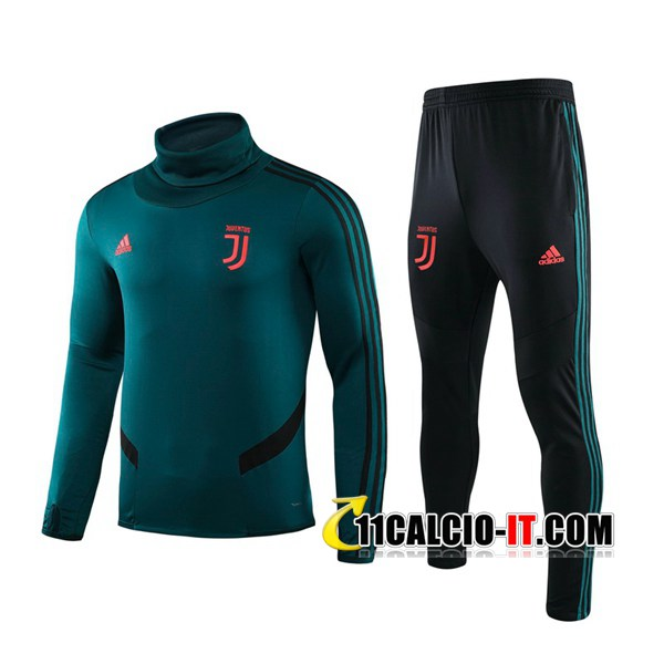 Tuta Calcio Juventus Verde Collo Alto 2019-2020 | 11calcio-it