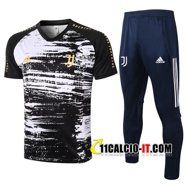 Nuove Kit Maglia Allenamento Juventus Pantaloni Nero 2020/2021 ...