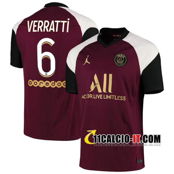 Maglia Calcio PSG (Verratti 6) Terza 2020/2021