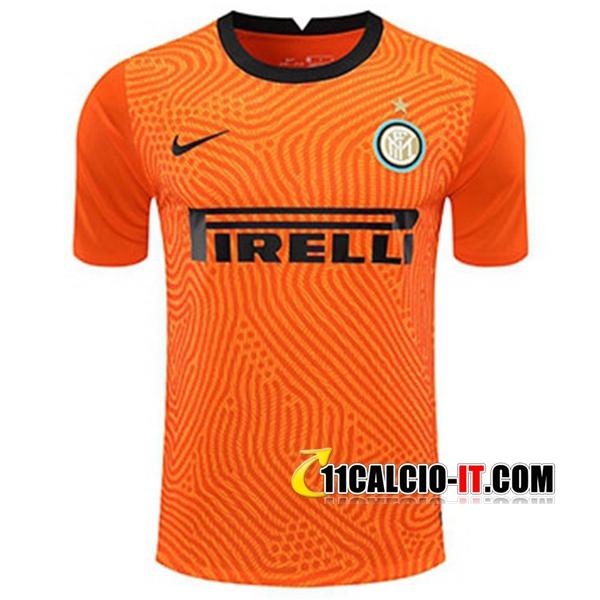 Nuove Maglia Calcio Inter Milan Portiere Giallo 2020 2021 | ufficiali
