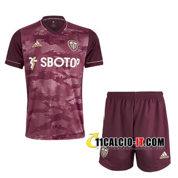 Nuove Nuove Maglia Calcio Leeds United Bambino Terza 2020 2021 ...