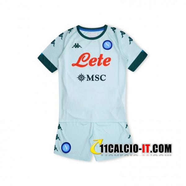 Siti Per Nuove Maglia Calcio SSC Napoli Bambino Seconda 2020 2021 ...