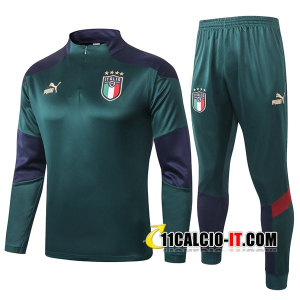 Tuta Calcio Italia Verde 2020-2021 | 11calcio-it