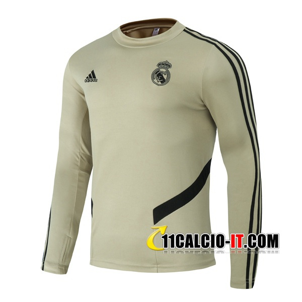Felpa da training Real Madrid Giallo 2020-2021 | 11calcio-it