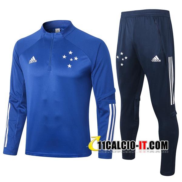 Nuove Tuta Calcio Cruzeiro EC Blu 2020/21 | Tailandia