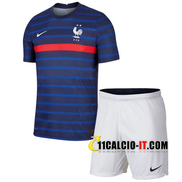 Nuove Maglia Calcio Francia Bambino Prima 2020/21 | Tailandia
