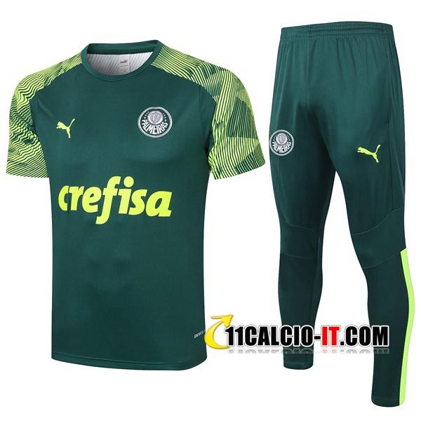 Nuove Kit Maglia Allenamento Palmeiras Pantaloni Verde 2020/21 ...