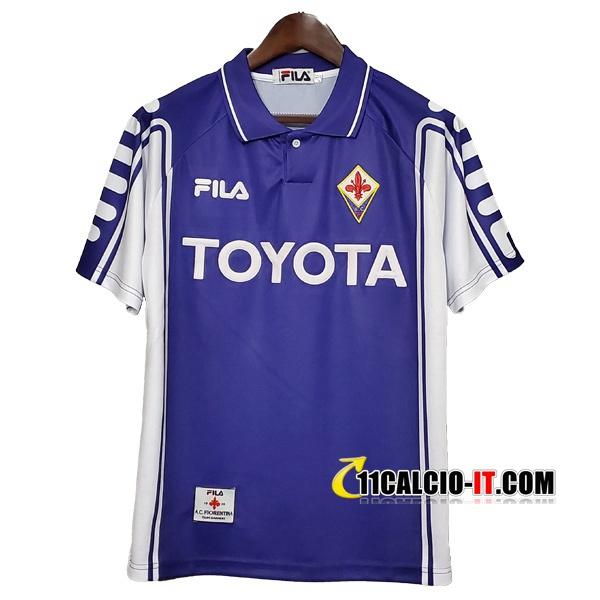 Maglia Calcio ACF Fiorentina Retro Prima 1999/2000