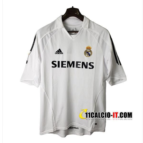 Maglia Calcio Real Madrid Retro Prima 2005/2006