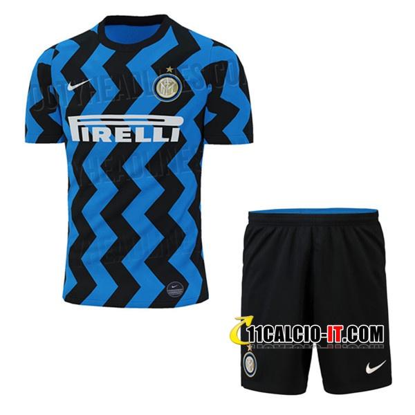 Nuove Maglia Calcio Inter Milan Bambino Prima 2020/21 | Tailandia