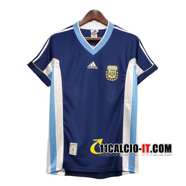 Maglia Calcio Argentina Retro Seconda 1998