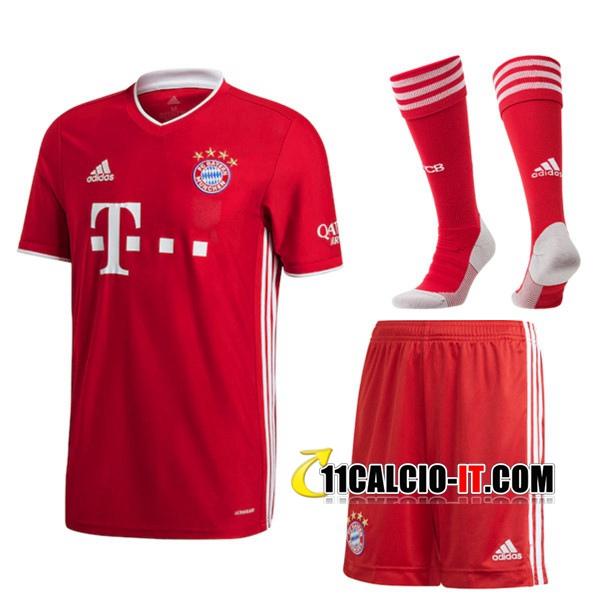 Nuove Kit Maglia Bayern Monaco Prima (Pantaloncini Calzini) 2020 ...