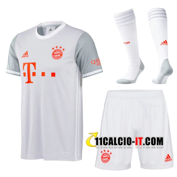 Nuove Kit Maglia Bayern Monaco Seconda (Pantaloncini Calzini) 2020 ...