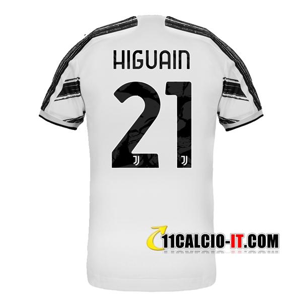 Maglia Calcio Juventus (HIGUAIN 21) Prima 2020/21 | Tailandia