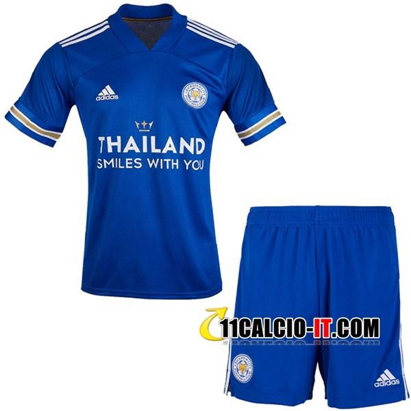 Nuove Maglia Calcio Leicester City Bambino Prima 2020/21   Tailandia
