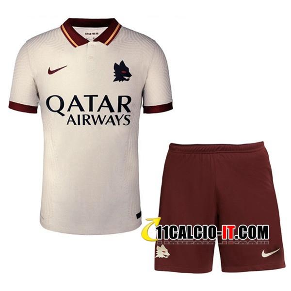 Nuove Kit Maglia AS Roma Seconda Pantaloncini 2020/21 | Tailandia