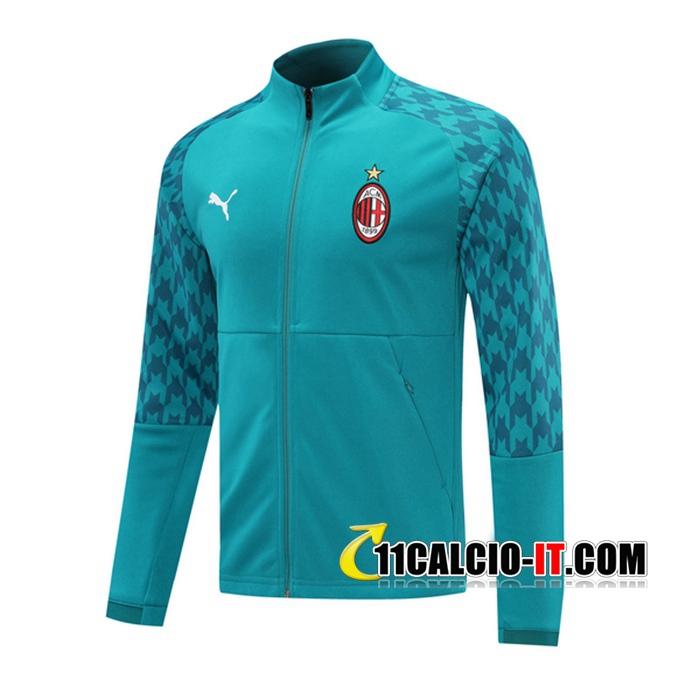 Nuove Tuta Calcio - Giacca Milan AC Blu 2020-2021   11calcio-it