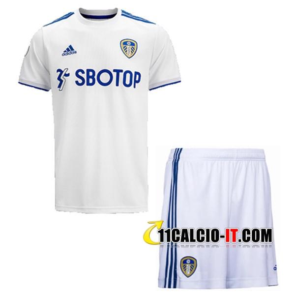 Crea Maglia Calcio Leeds Utd Bambino Prima 2020/2021