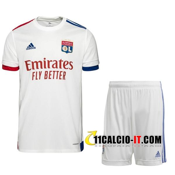 Kit Personalizza Maglia Calcio Lyon OL Prima Pantaloncini 2020/2021
