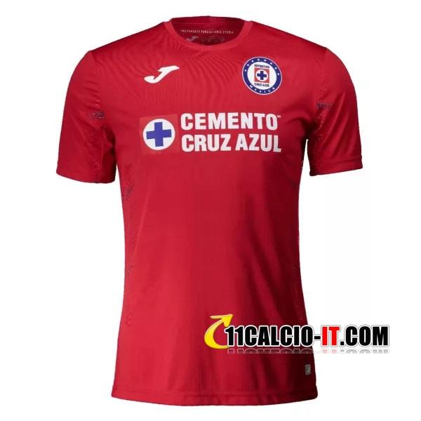 Siti Per Maglia Calcio Cruz Azul Portiere Rosso 2020/2021