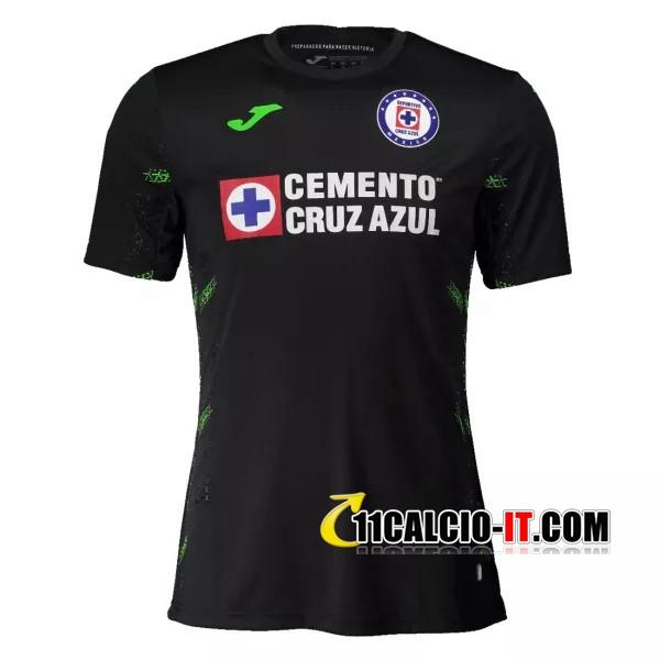 Siti Per Maglia Calcio Cruz Azul Portiere Nero 2020/2021