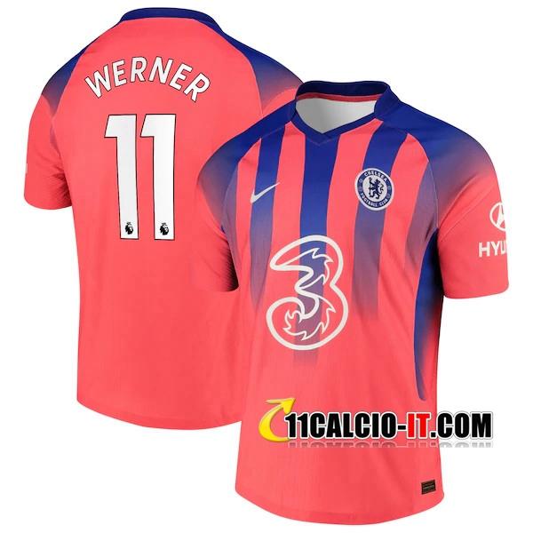 Siti Per Maglia Calcio FC Chelsea (Werner 11) Terza 2020/2021